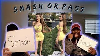 SMASH or PASS! (Female Youtubers) w/ Zaddychunkchunk