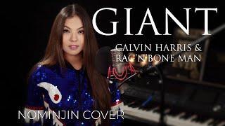 Calvin Harris, Rag'n'Bone Man - Giant ( Nomijin Cover ) Female Lyrics