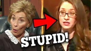 Judge Judy vs Stupid Girl: Cocaine Adderrall and Law School JUDGE Pirro DESTROYS Female Student