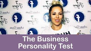 Facebook Live Series - The Business Personality Test