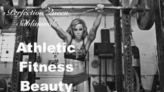 (For Females) Feminine Athletic Fitness Beauty - Female Beauty Series