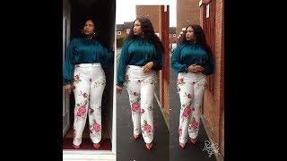 HOW TO MAKE A FEMALE PANT ( LINK FOR  how to draft female pants/trousers)