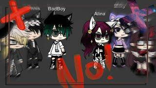 No! GLMV | Male and girl/female version I gacha Life music video (Insiparodo En Fer-Kun) Alina????