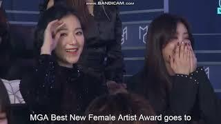 [ENGSUB] MBC Genie Music Award 2018 - (G)-IDLE Winning Female Rookie Award