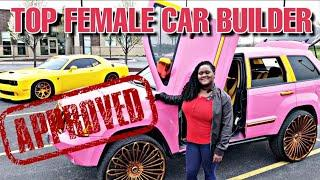TOP FEMALE CAR BUILDER IN THE MIDWEST