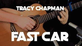 Kelly Valleau - Fast Car (Tracy Chapman) - Fingerstyle Guitar