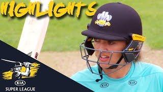 Sarah Taylor & Lizelle Lee Star For Surrey | Thunder v Stars | Kia Super League 2018 - Highlights