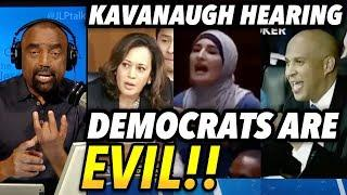 Democrats at Kavanaugh Hearing: What Evil Looks Like
