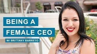 Being a Female CEO - Interview W/ Brittany Barreto, Co-Founder of Pheramor