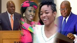 GHANA Wants A Female President Not Nana Addo and John Mahama