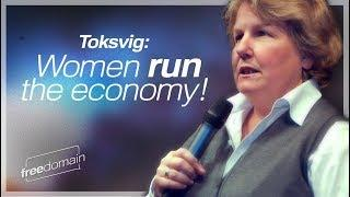 """Our economy runs on women's unpaid work"" 