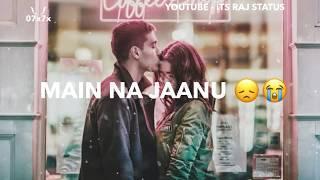 Vaaste Song Status | Dhvani Bhanushali | New Female Version | Whatsapp Status Video 2019