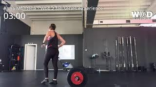 Anna Montella wod 2 fall series experience female