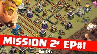 MISSION 2 STAR SERIES,EPISODE 1 ,CLASH OF CLANS INDIA.