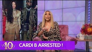 Cardi B Turns Herself in to Police