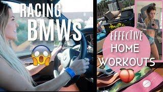 ALL FEMALE BMW RACING | AT-HOME BAND-ONLY WORKOUT