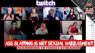 Female Twitch Streamer Approves Of Cheek Grabbing - L OF THE DAY