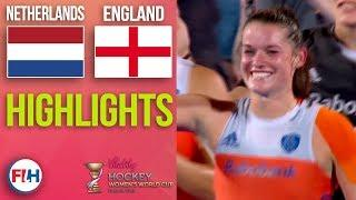 Netherlands v England | 2018 Women's World Cup | HIGHLIGHTS