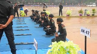 kerala Police women Battalion Commando  Show After Passing Out Parade