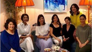 "LOOK: ""GMA Supershow"" female hosts in their mini reunion after 30 years"