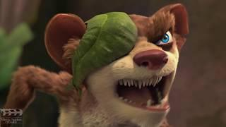 Ice Age 3 Hindi : Dawn of the Dinosaurs || Best Funny Scene 07