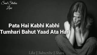I Miss You ???? || Female version status video || Sad Status Line || Subscriber's Request ||