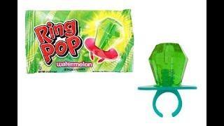 First Taste of Ring Pop Watermelon