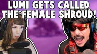 LUMI GETS CALLED THE FEMALE SHROUD! DRDISRESPECT SAYS PUBG DEAD IN 3 MONTHS | PUBG Twitch Highlights