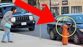 BEST Public Trolling Parking Pranks (NEVER DO THIS!!) - FEMALE MAGIC TOP COMPILATION 2019