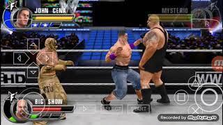 WWE all star female battle Rey Mysterio John Cena and we show