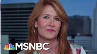 #GoodNewsRuhles: Laura Dern Pushes For More Female STEM Education | Velshi & Ruhle | MSNBC