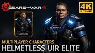Gears of War 4 - Multiplayer Characters: Helmetless UIR Elite Female