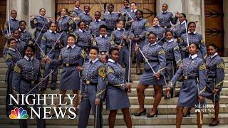 Black Female Cadets Make History At West Point   NBC Nightly News