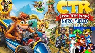 CTR Nitro-Fueled - Five more Female Characters we want! (Crash Team Racing)