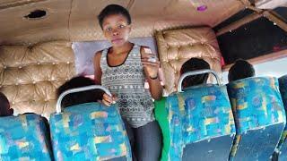 A DAY AS A FEMALE CONDUCTOR IN NAIROBI,KENYA pt2/MATATU CULTURE/Miss Trudy.