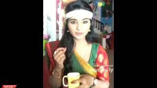 Vijay Tv Serial Nenjam Marappathillai Sharanya Performance at shooting spot Dubsmash Video's __ ( 36