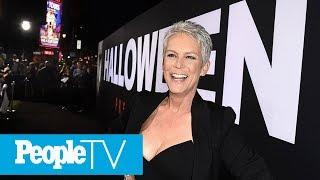 Jamie Lee Curtis Boasts After Halloween Makes History As Biggest Female-Led Horror Movie | PeopleTV