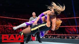 Becky Lynch & Nikki Cross vs. The IIconics: Raw, May 27, 2019