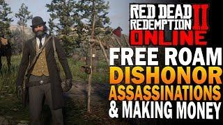 RDR2 Online Dishonorable Free Roam, Assassinations & More - Red Dead Redemption 2 Online [RDR2]