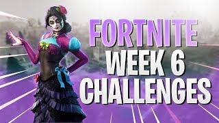 *NEW* UPDATE PATCH & WEEK 6 CHALLENGES! - FEMALE PLAYER - FORTNITE BATTLE ROYALE - PS4