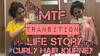 MTF Timeline: My 6 Yrs HRT Transition Timeline + Life Story + Curly Hair Journey | Des May