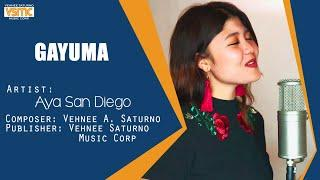 Aya San Diego - Gayuma (Official Lyric Video) - Female Version
