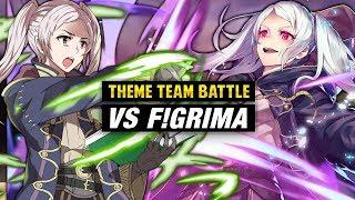 Robin: Fell Vessel Vs. Female Robin - Fire Emblem Heroes Theme Team Battle