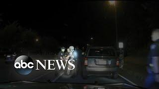 Video shows police officer dragging 65-year-old woman during traffic stop