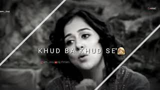 Sad Shayari | Female | Lyrical Whatsapp Status Video
