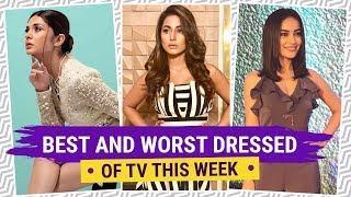 Jennifer Winget, Hina Khan Divyanka Tripathi : TV's Best and Worst Dressed of the Week