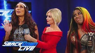 Ember Moon & Carmella are ready for the Women's Money in the Bank: SmackDown LIVE, April 30, 2019