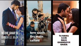 Mujhe Ghar Se....Female Version Full Screen Whatsapp Status Video | new love status