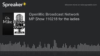MP Show 110218 for the ladies
