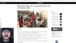 """Antifa PUNCHED A Woman In The Face, Debunking """"Very Fine people"""" Hoax"""